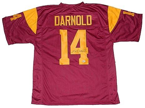 Sam Darnold Signed Jersey 14 Beckett Beckett