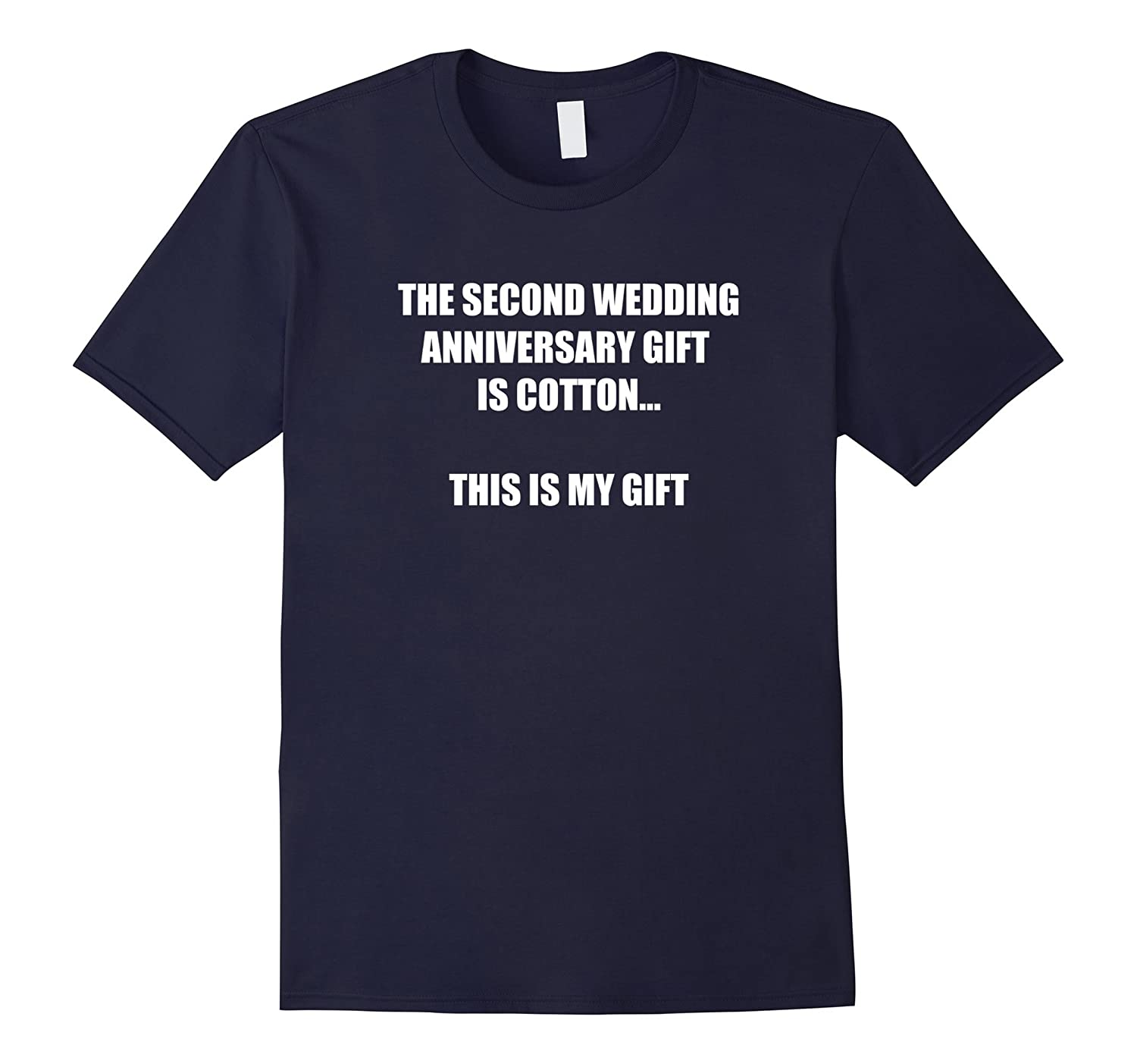 2nd Wedding Anniversary Tee Shirt Marriage Gift For Couples-T-Shirt