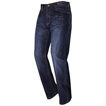modeka Denver 2 Pro - Pantalones vaqueros - Azul: Amazon.es ...