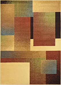 Geometric Pattern   Modern Area Rug by Home Dynamix, , Multi   Catalina Collection   Fade and Stain Resistant, Easy to Clean, Durable and Soft   Stylish Indoor Rug for the Living Room, Bedroom, Dining Room and Anywhere Else
