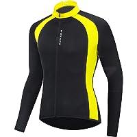 Domary Camisa de ciclismo masculina e feminina de secagem rápida respirável manga comprida para bicicleta roupas…
