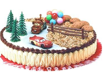 decorazioni torta disney cars: amazon.it: giochi e giocattoli - Dolci E Decorazioni Graziano