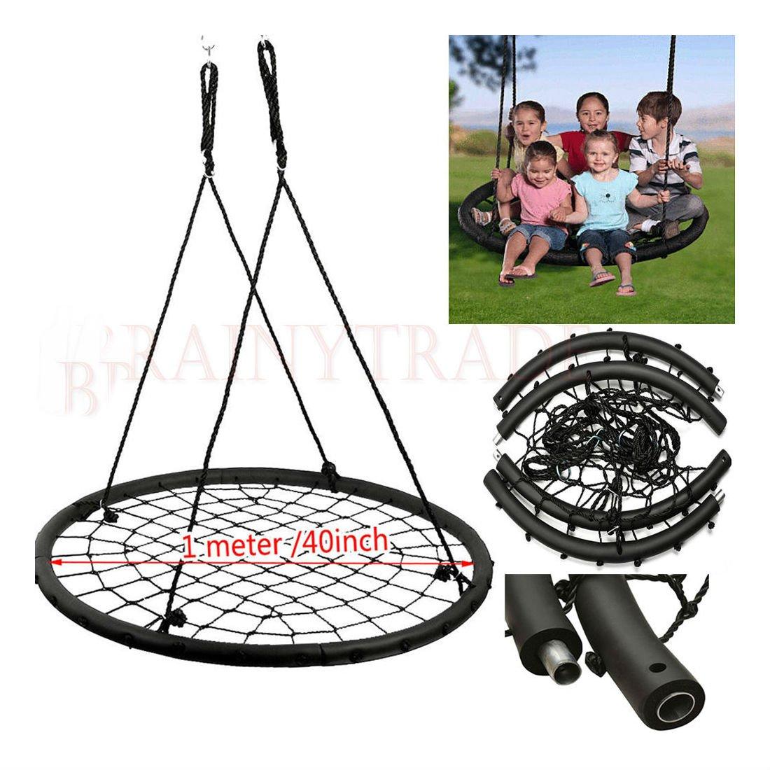 40'' Wide Tree Outdoor Spider Web Swing