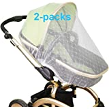 Mosquito Net for Baby Stroller | Bug Net for Infant Carriers Car Seats Cradles, Crib, Pack and Play, Bassinet, Playpen | Prem
