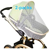 Mosquito Net for Baby Stroller | Bug Net for Infant Carriers Car Seats Cradles, Crib, Pack and Play, Bassinet, Playpen…