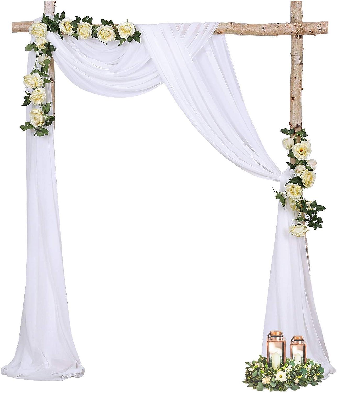 Burgundy Chiffon Backdrop Curtain 10ftx8ft Sheer Fabric Backdrop ...