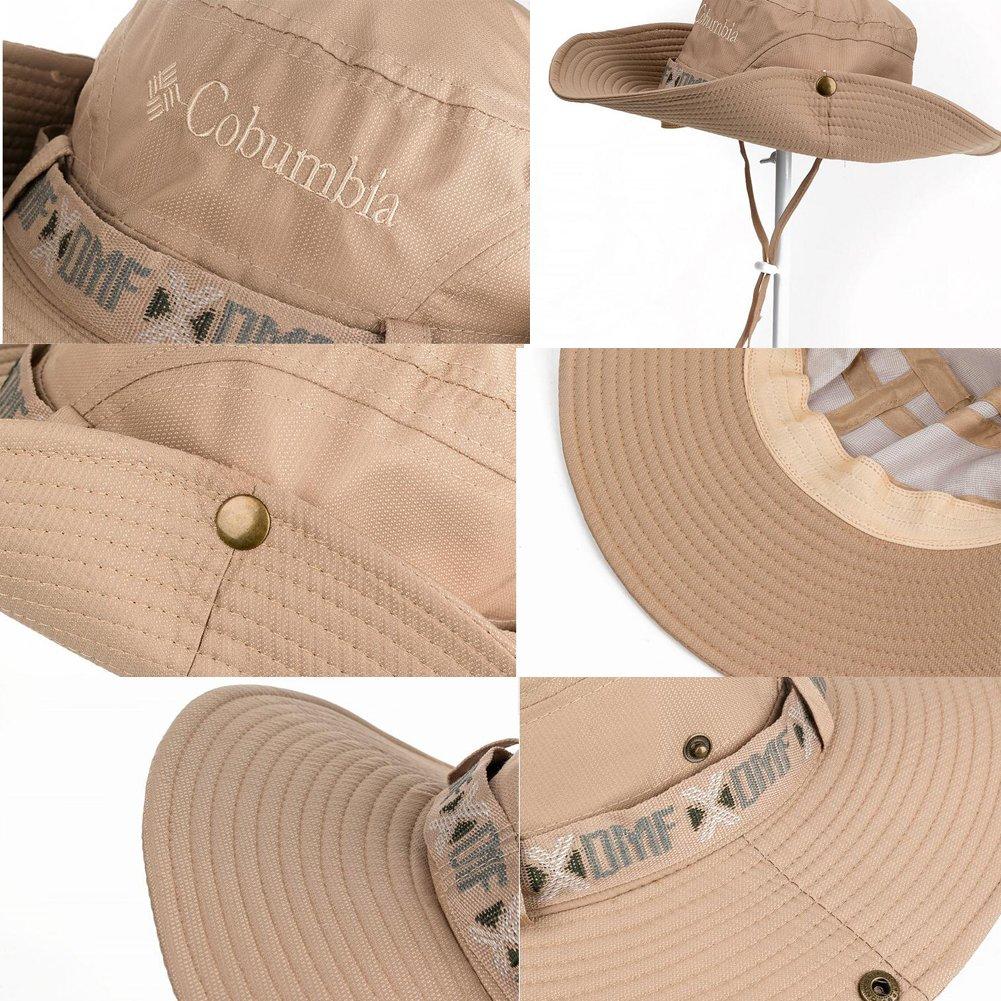 East Majik Mens Wide Brim Sun Hat Fisherman Hat Summer Hats for Travel Camping