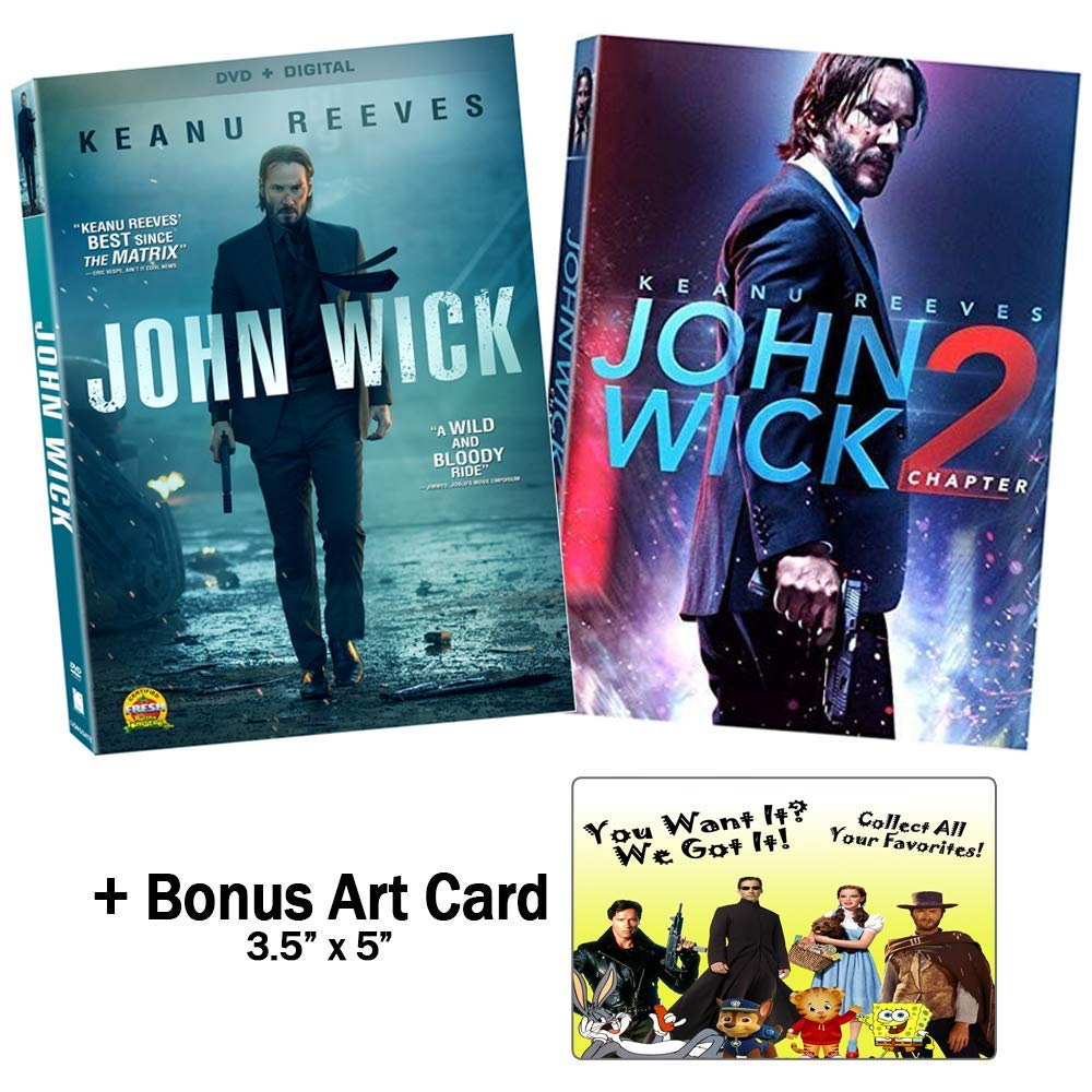 Amazon Com The Keanu Reeves Enthusiast Collection John Wick