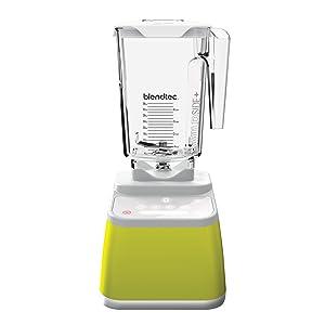 Blendtec Designer 625 Blender WildSide+ Jar (90 oz) Professional-Grade Power - 4 Pre-Programmed Cycles, 6-Speeds, Sleek and Slim - Chartreuse