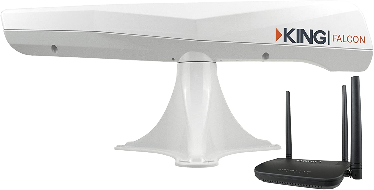 KING Falcon Automatic Directional Wi-Fi Antenna