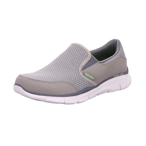 Skechers 51361 GRY - Mocasines de Material Sintético para Hombre GRY°Gray: Amazon.es: Zapatos y complementos