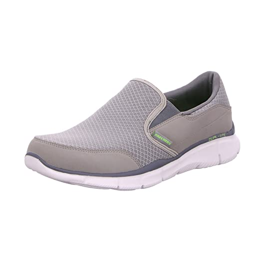 Skechers Herren Slipper BridgeArtikel 51361 GRY Oliv 52997