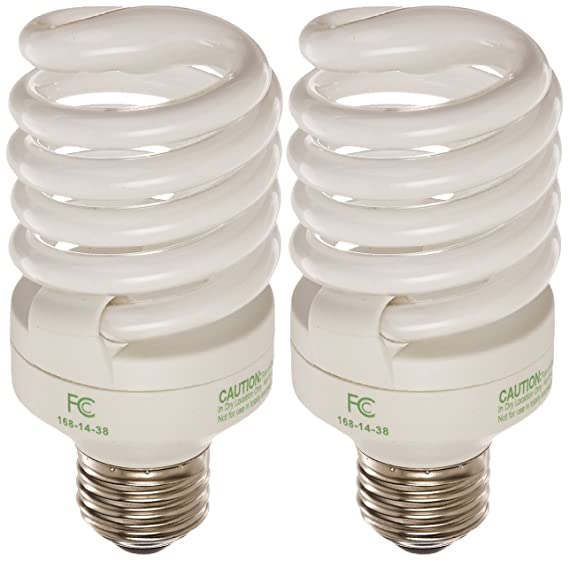 Feit Electric BPESL23T2/2/RP 100-Watt Equivalent Twists CFL Bulb