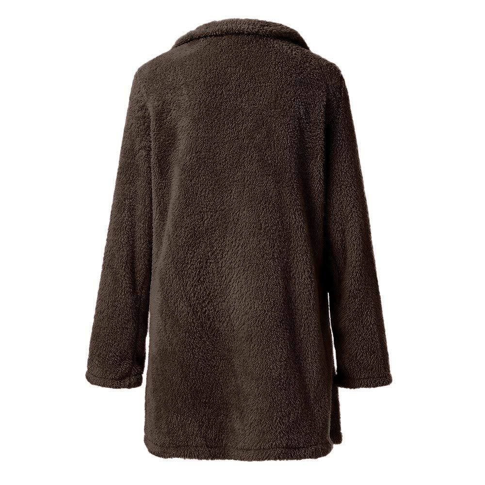 YKARITIANNA Women Long Roomy Fir 2019 Spring Long Coat Long Sleeve Sweater Winter Warm Coat Women Thick Outerwear