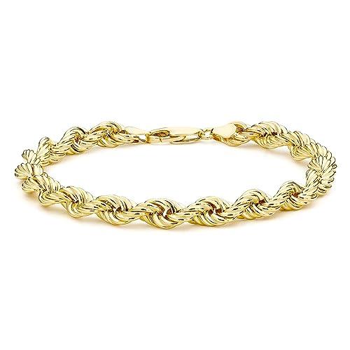 Pulsera de mujer con oro 9 Khttps://amzn.to/2Ad43kF