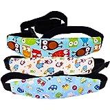 Tomkity 3 Pezzi Cinturino Supporto per Testa Cinghia Auto Sicurezza Dormire Cintura di Sicurezza per Bambino e Neonato