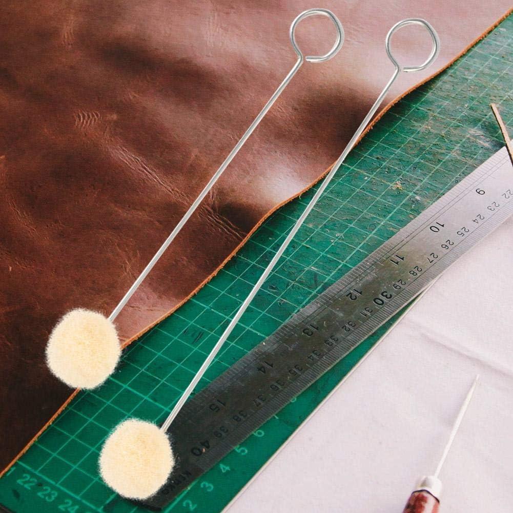 10 Stücke DIY Leder Werkzeug Zubehör Wolle Daubers Unterstützt Färben Wolle