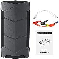 SODIAL 99900MAh 2 USB 12V Car Jump Starter Pack Booster LED Charger Battery Power Bank