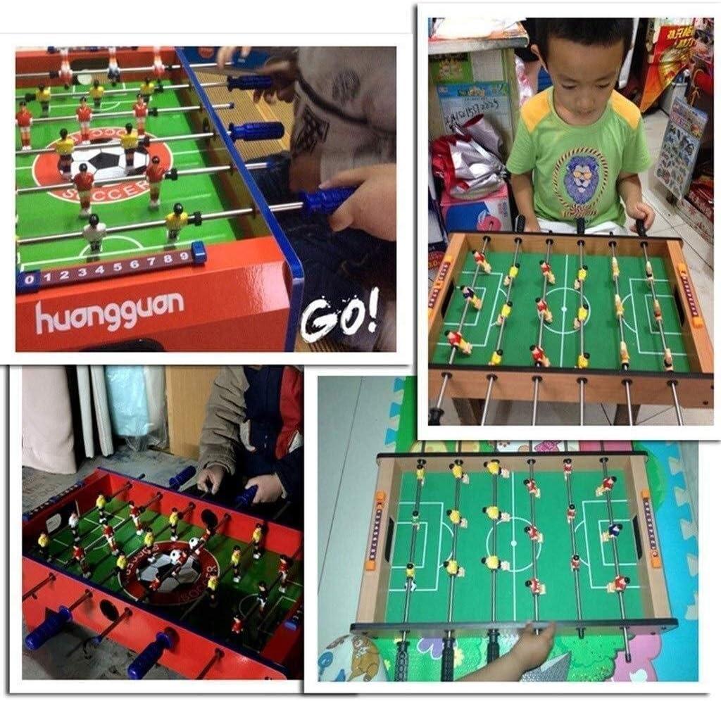 SYXX Los niños mesa de escritorio de fútbol, fútbol Foosball Mini Juego de Mesa, 6-12 Años de Edad multifuncional futbolín juguete, los hijos adultos de padres y niños, juguetes for niños Juegos