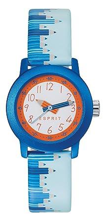 Armbanduhr kinder esprit  Esprit Kinder-Armbanduhr Blau Leder - ES106414036: Amazon.de: Uhren