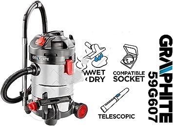 Graphite 59G607 Aspirador industrial: Amazon.es: Bricolaje y herramientas