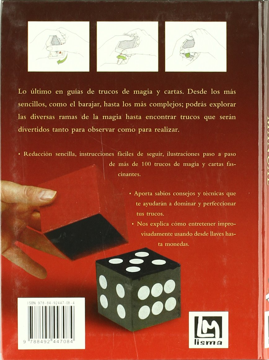 TRUCOS DE MAGIA Y CARTAS MANUAL: Unknown: 9788492447084 ...