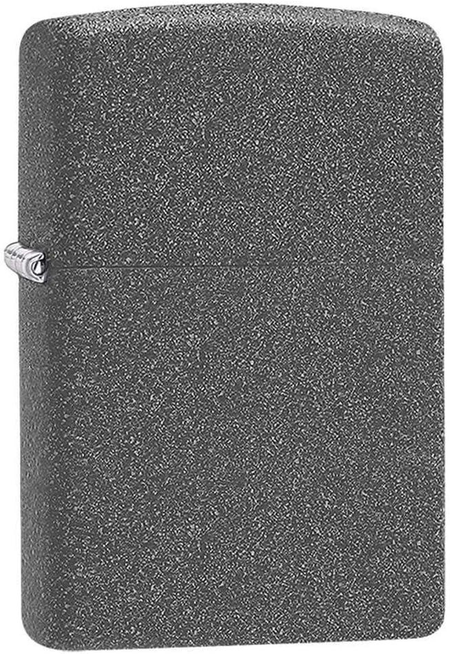 Zippo Classic Iron Stone Pocket Lighter