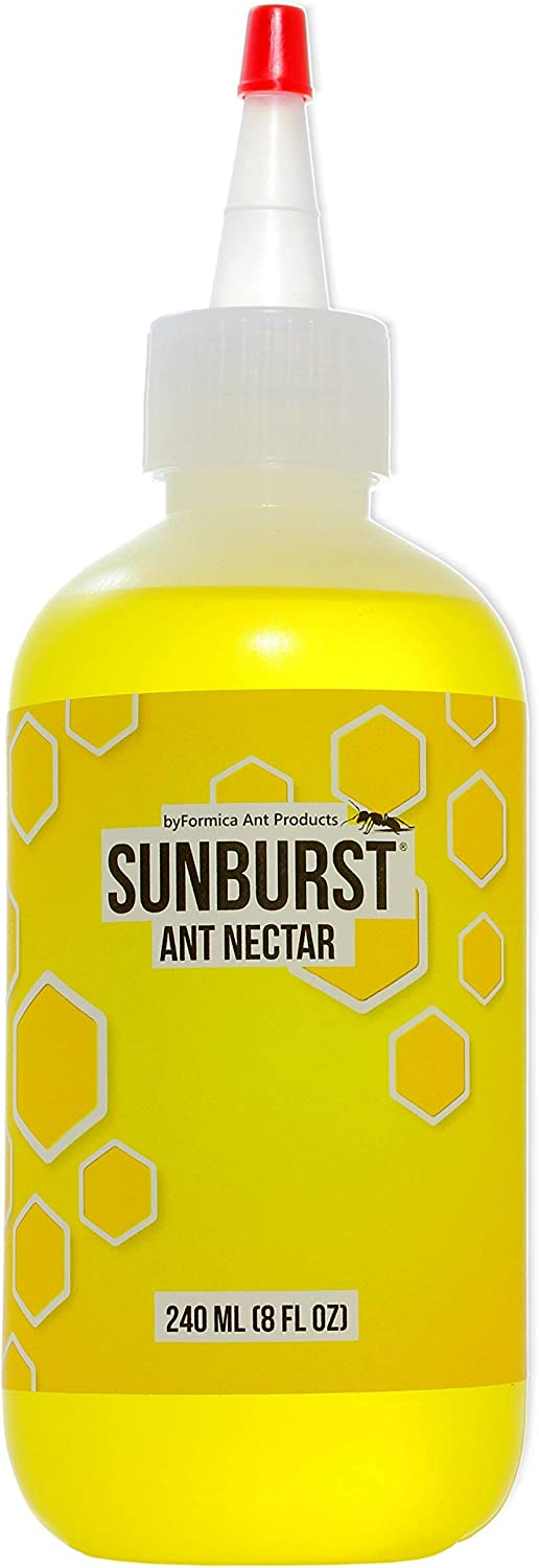 byFormica Sunburst Ant Nectar - Convenient, Reliable Liquid Sugar Ant Food for Antkeepers