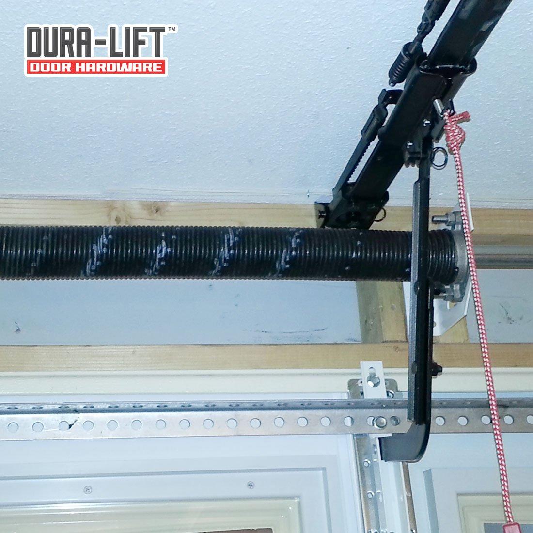 DURA-LIFT .262 x 2 x 44 Torsion Garage Door Spring Blue, Left Wound