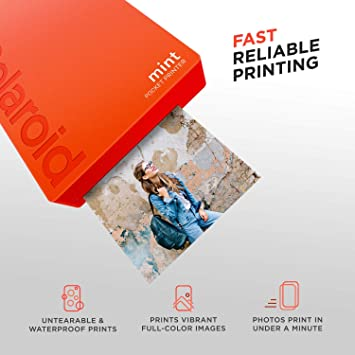 Polaroid Mint Impresora de Bolsillo Inalámbrica (Rojo ...