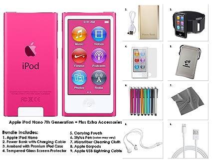 amazon com apple 8th gen 16gb ipod nano bundle with accessories