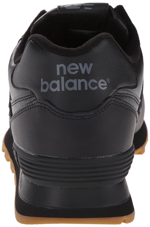 Nuevo Equilibrio Negro De Cuero 574 PtcSiLSAn