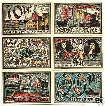 Uncirculated 1921 Germany  set of  Notgeld banknote Rare 90 Pfennig