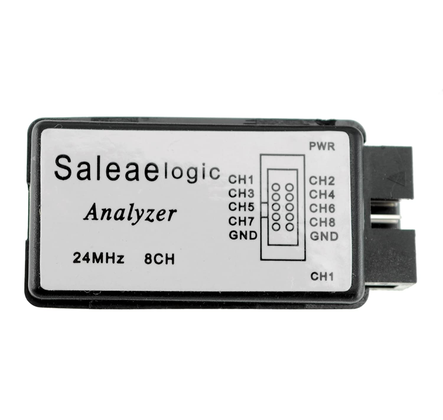 satkit Logico Analyzer 24/ MHz 8/ CH Compatible With The Software USB Saleae Logic