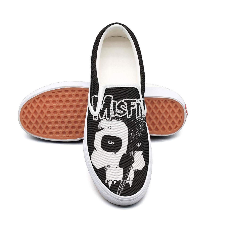 Sneaker Shoes for Men Art-Skull-Misfits Shock Absorption Girl Running Shoes