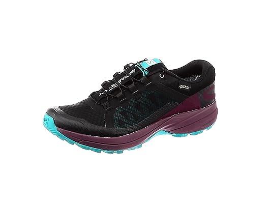 Zapatillas de Trail Running para Mujer Salomon XA Elevate GTX, Negro, 36 2/