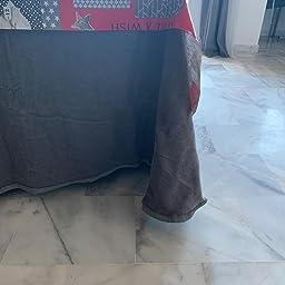Sanz Marti - Falda Mesa Camilla Invierno Rectangular 70x120 - Gris ...