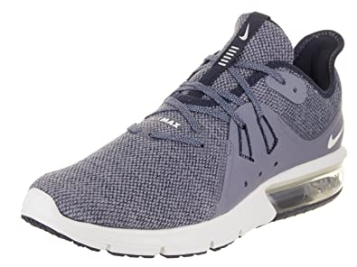 half off 26957 f218e ... uk nike mens air max sequent 3 obsidian summit white running shoe 7.5  men us de911