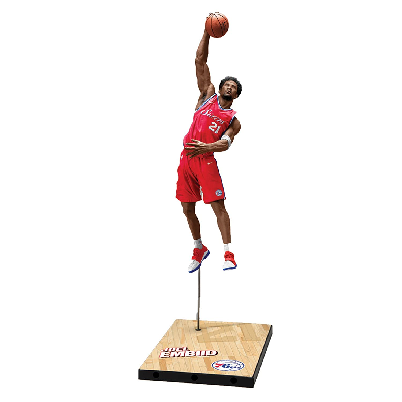 McFarlane NBA Series 32 Joel Embiid Philadelphia 76ers Action Figur (18 cm) Mcfarlane Toys 13071-3