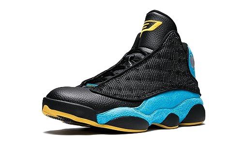 beab9ded3c461a Nike Mens Air Jordan 13 Retro CP PE Chris Paul Black Sunstone-Orion Blue