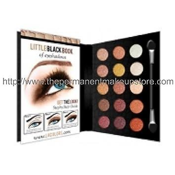 Amazon.com : L.A. Colors Little Black Book of Eyeshadows ~ 15 ...