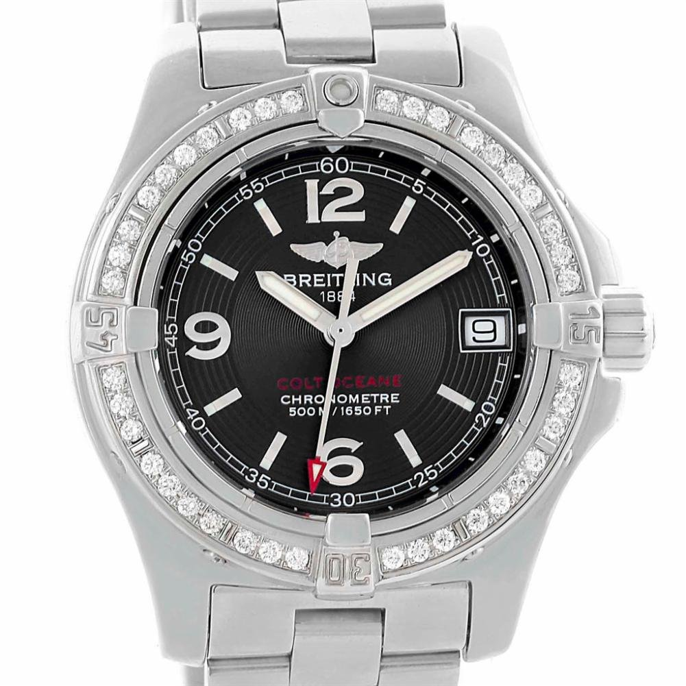 Breitling Colt quartz womens Watch A77380 (Certified Pre-owned)