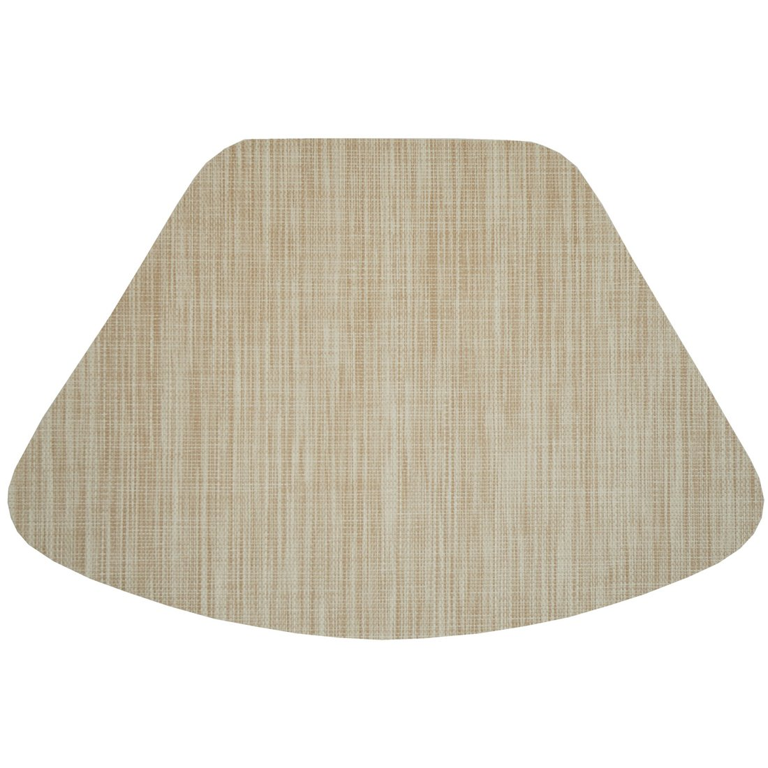 Amazon.com: Set Of 2 Cream/Tan Wipe Clean Wedge Shaped Placemats For Round  Tables: Home U0026 Kitchen