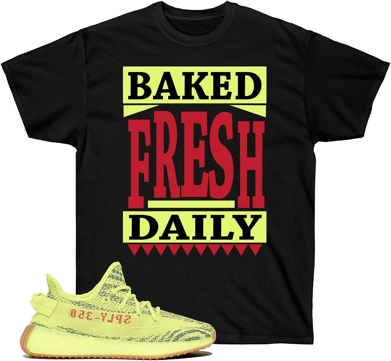 Frozen Yellow Shirt Short-Sleeve Unisex T-Shirt Baked Fresh Daily Frozen Yellow Yeezys