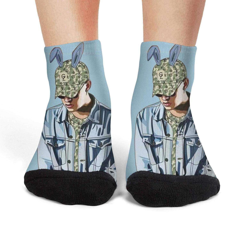 Boys Fancy Low CutSports Non-Slip Ankle Socks