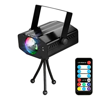 leoker projector party disco dj lights ocean wave stage lighting
