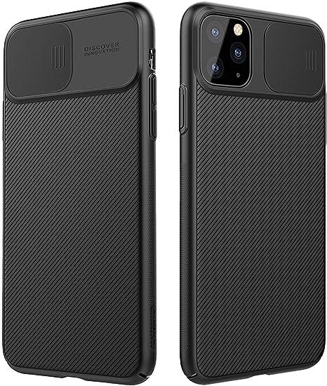 AENGHEI para iPhone 11 Pro Funda Protecci/ón de c/ámara CAM Shield Funda Cubierta de c/ámara Deslizante Proteger Thin Fit Funda Premium no voluminosa para iPhone 11 Pro 5.8 Negro