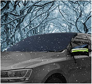 MAGNETIC CAR WINDSCREEN COVER SCREEN PROTECTION SHIELD FROST SUN ICE RAIN SNOW