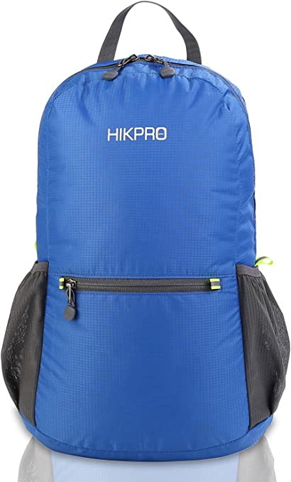 HIKPRO 20L The Most Durable Lightweight Packable Backpack Water Resistant Travel Hiking Daypack for Men /& Women