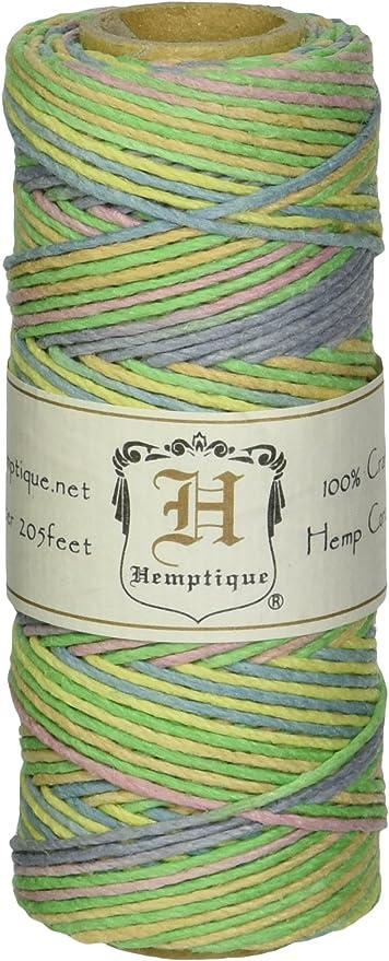 hemp spool 1mm 205 feet White Macrame Cord Earth Friendly jewelry cord
